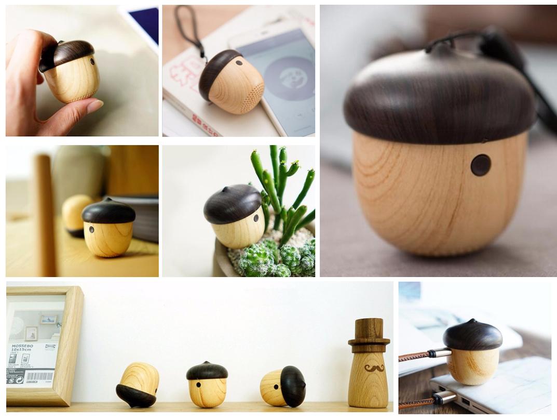 Si buscas algo original de verdad tu producto sin duda es nuestro altavoz bluetooth con forma de bellota.